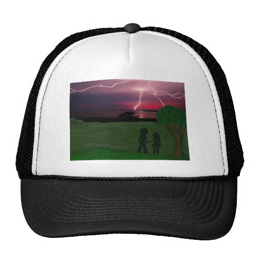 weathering the storm together trucker hat