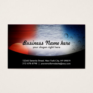 Weatherization Business Cards