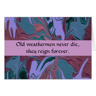 weathermen humor card