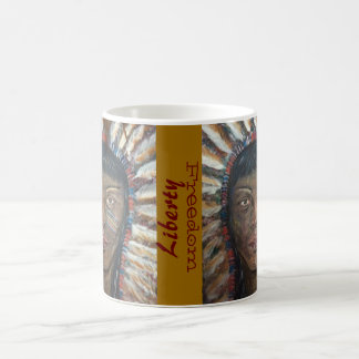 "Weather's Liberty Motto Mug: "" wisdom"" Classic White Coffee Mug"
