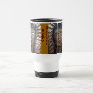 "Weather's Liberty Motto Travel Mug: "" wisdom"" 15 Oz Stainless Steel Travel Mug"