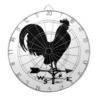 Weathervane Rooster Dart Board
