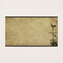 Weathervane Rooster- Prim Biz Cards
