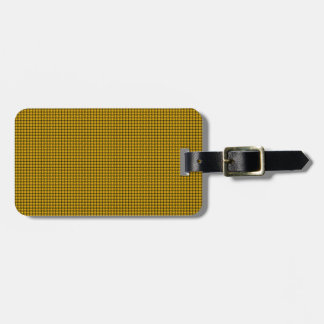 Weave - Amber Luggage Tag