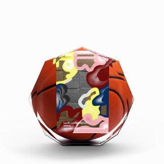 Weave Basketball Acrylic Award