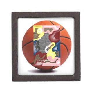 Weave Basketball Keepsake Box