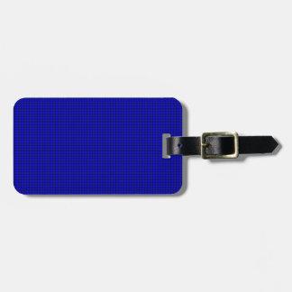 Weave - Blue Bag Tag