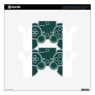 Weave - Celadon Green PS3 Controller Skin