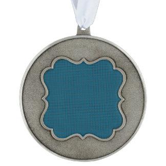 Weave - Cerulean Ornament