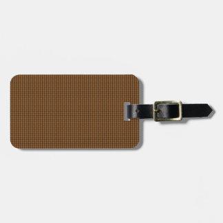 Weave - Copper Bag Tags