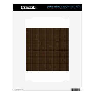 Weave - Dark Brown Skin For NOOK