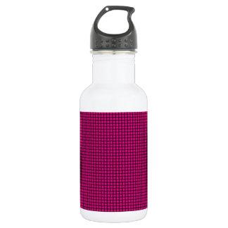 Weave - Deep Pink Water Bottle