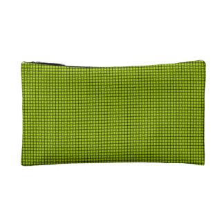 Weave - Fluorescent Yellow Makeup Bag