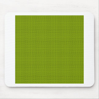 Weave - Fluorescent Yellow Mouse Pads