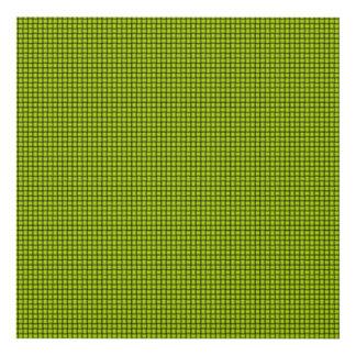 Weave - Fluorescent Yellow Panel Wall Art