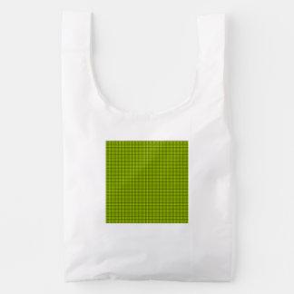 Weave - Fluorescent Yellow Reusable Bag