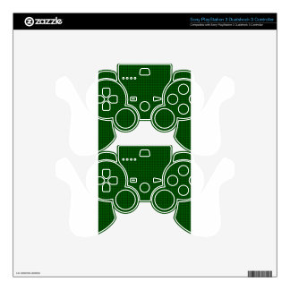 Weave - Green Decal For PS3 Controller