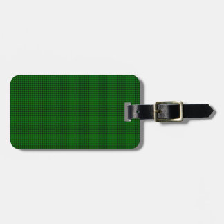 Weave - Green Travel Bag Tag