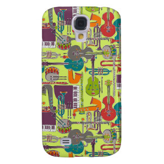 weave jazz multi galaxy s4 cover