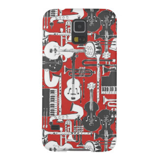 weave jazz red case for galaxy s5