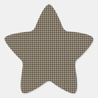 Weave - Khaki Sticker
