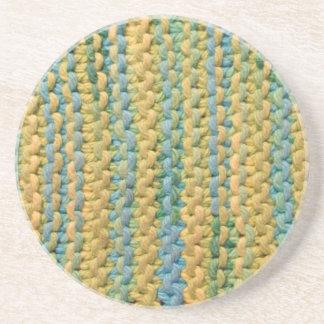 Weave - LemonLimeSlushy Beverage Coaster
