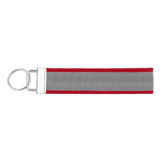 Weave - Light Gray Wrist Keychain