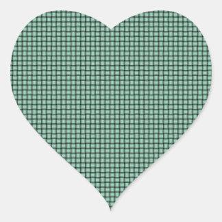 Weave - Magic Mint Heart Sticker