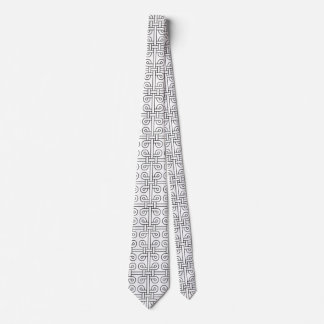 weave neck tie