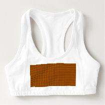 Weave - Orange Sports Bra