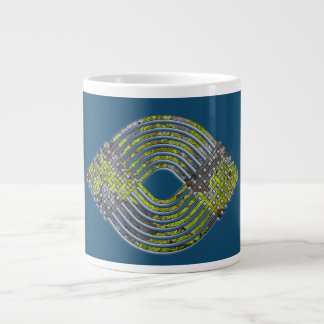 Weave Pattern Giant Coffee Mug