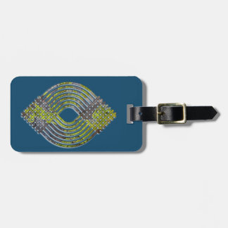 Weave Pattern Luggage Tag