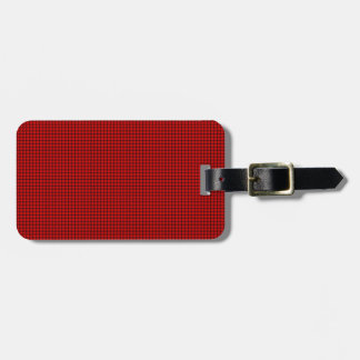 Weave - Red Luggage Tags