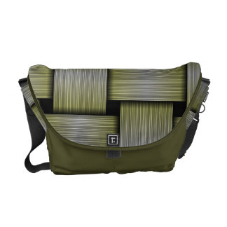 Weave texture commuter bags