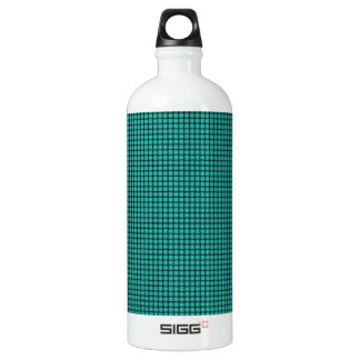 Weave - Turquoise Aluminum Water Bottle