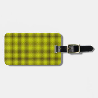 Weave - Yellow Tag For Bags