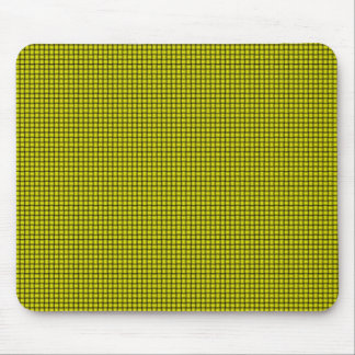 Weave - Yellow Mouse Pad
