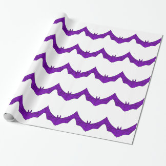 Weaved Bat Wrapping Paper