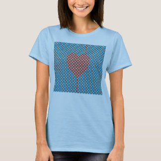 Weaved Heart T-Shirt