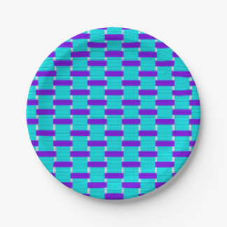 Weaved Paper Plate
