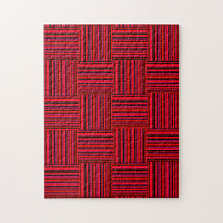 Weaved Stripes Jigsaw Puzzles