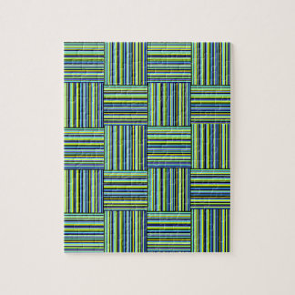 Weaved Stripes Jigsaw Puzzle