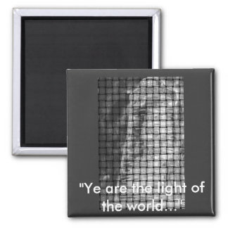weavedlighthouse 2 inch square magnet