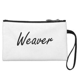Weaver Artistic Job Design Wristlet Purses