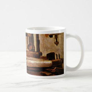 Weaver At The Loom By Vincent Van Gogh Coffee Mug