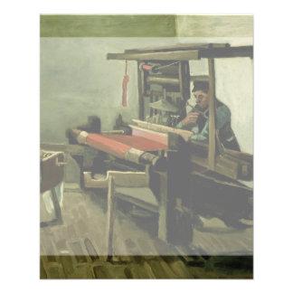 Weaver by Vincent Van Gogh Flyers