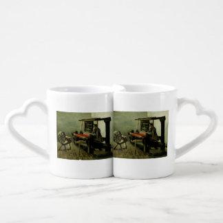 Weaver by Vincent Van Gogh Lovers Mug Sets