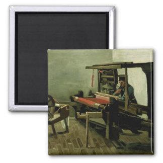 Weaver by Vincent Van Gogh Refrigerator Magnet