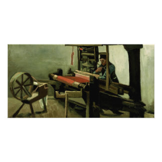 Weaver by Vincent Van Gogh Photo Card