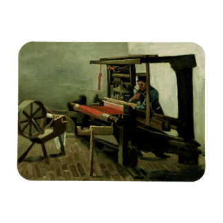 Weaver by Vincent Van Gogh Rectangle Magnets
